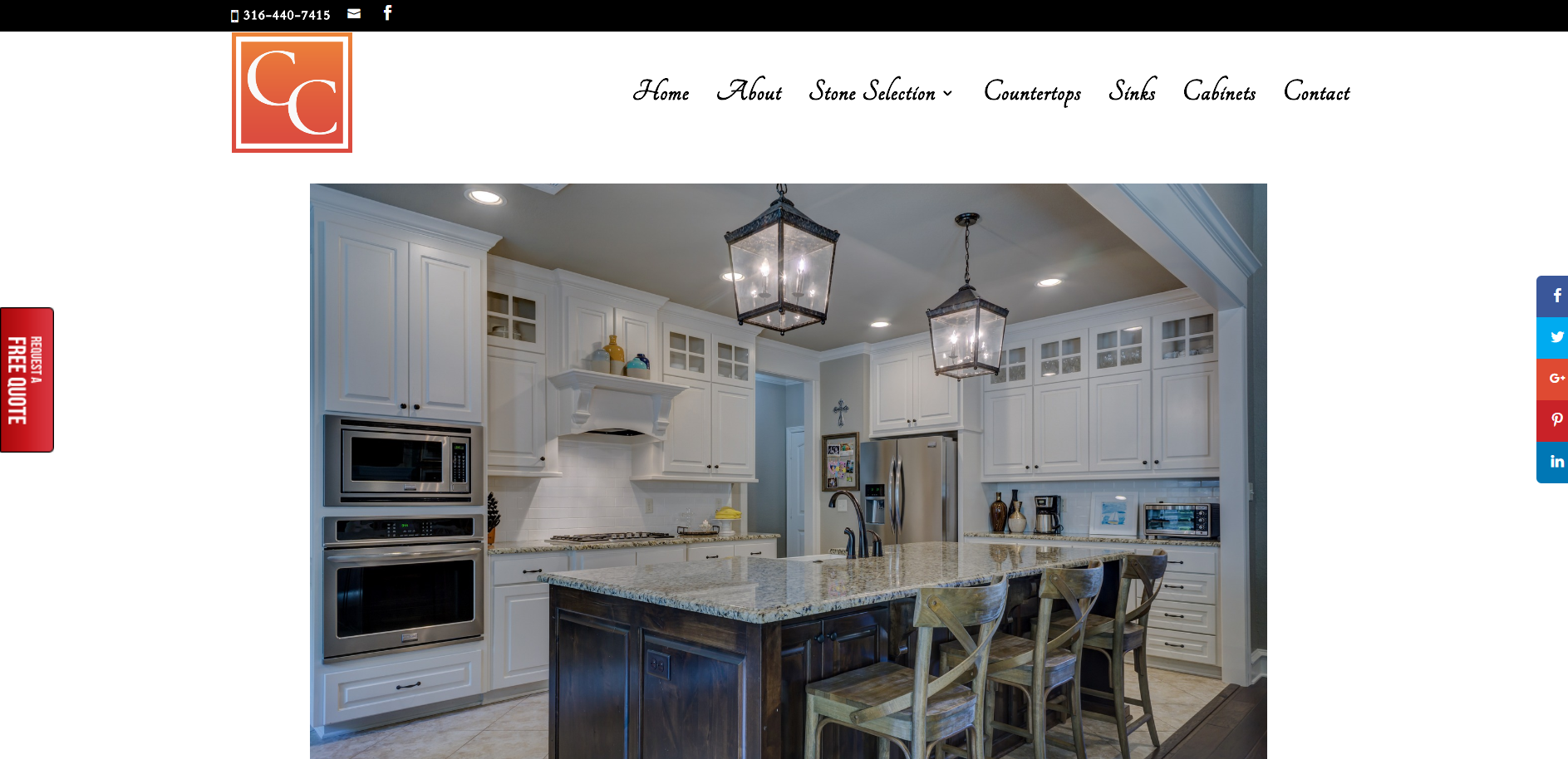 Countertop Concepts website