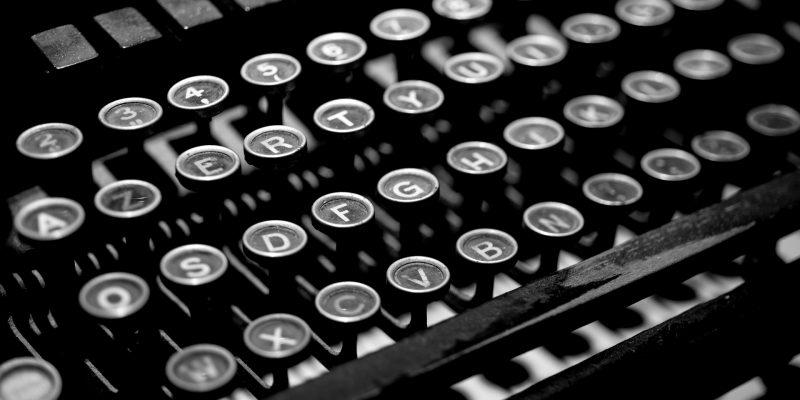 Typewriter 2653187 1920